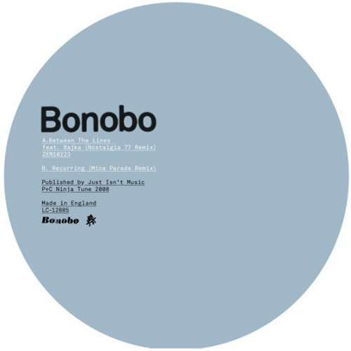 In Between / Recurring Remixes - Bonobo