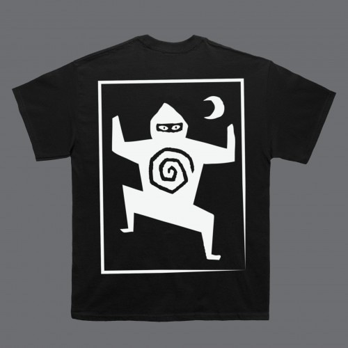 Woodcut Black T-Shirt - Ninja Tune